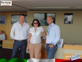 Staff AMER, Barbara Amerio,Ionut Tudose- Genoa International Boat Show 2014 (16) - Copy