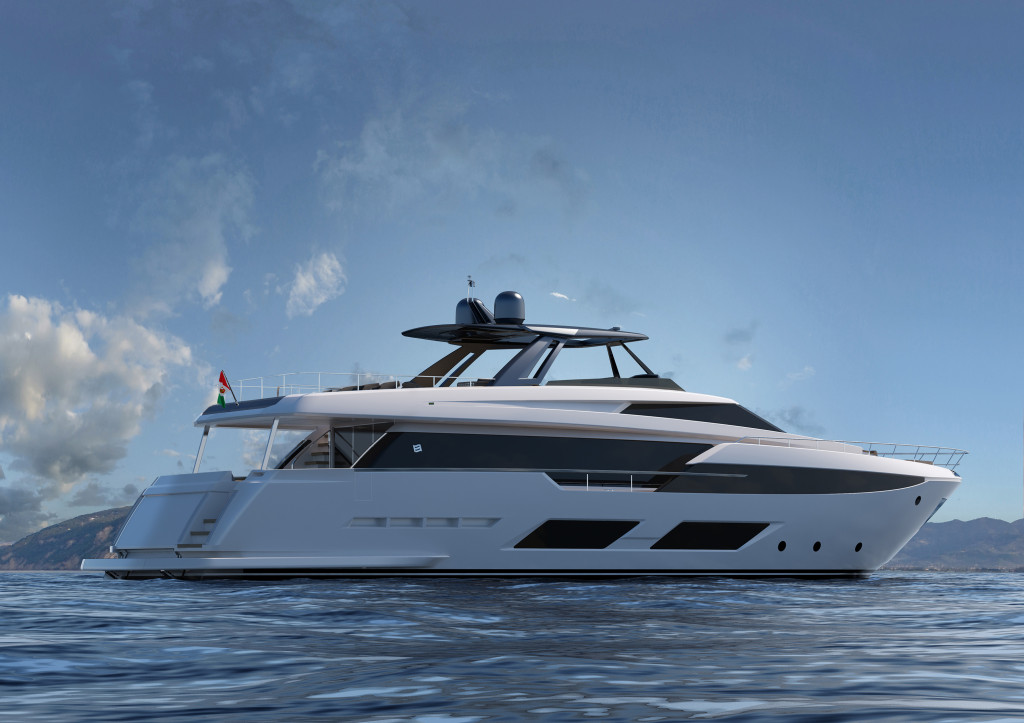 Ferretti Yachts 920 Project