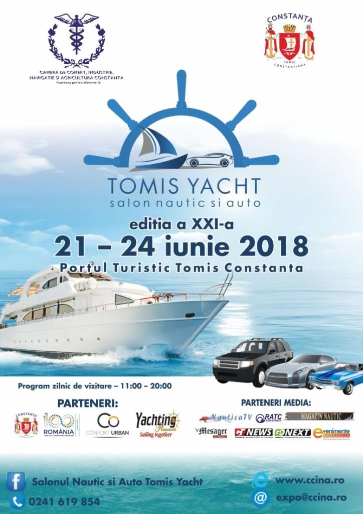 Salonul Nautic și Auto – TOMIS YACHT 2018