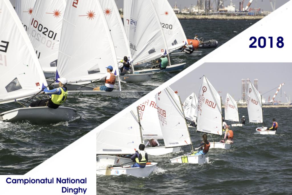 Campionatul Național Dinghy 2018 a stabilit câștigătorii la clasele Optimist, 420, Laser Radial și Laser 4.7