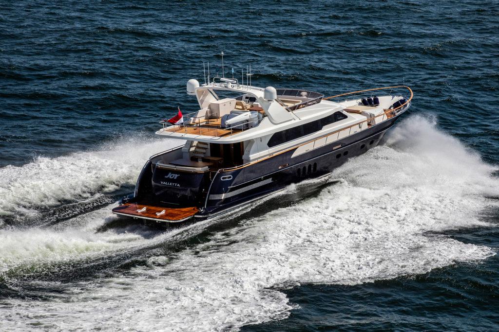 Van der Valk a livrat noul yacht Joy
