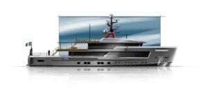 AlfaRosso, noul yacht de expolrare construit de CRN
